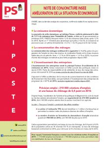 RIPOSTE - Note de conjoncture