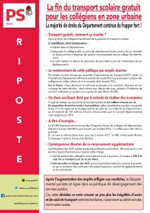 RIPOSTE - transport collégiens