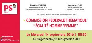 COMMISSION_FEDERALE_THEMATIQUE_EGALITE_HOMME_FEMME_LE_14_SEPTEMBRE_2016_A_18H30_AU_SIEGE_FEDERAL